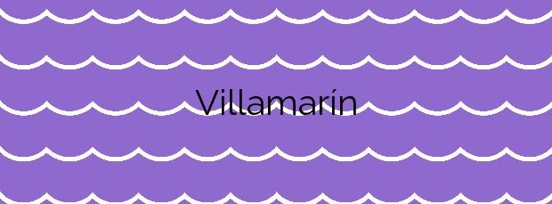 Información de la Playa Villamarín en O Grove