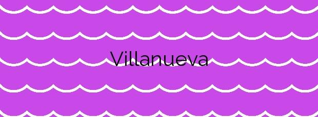 Información de la Playa Villanueva en Llanes