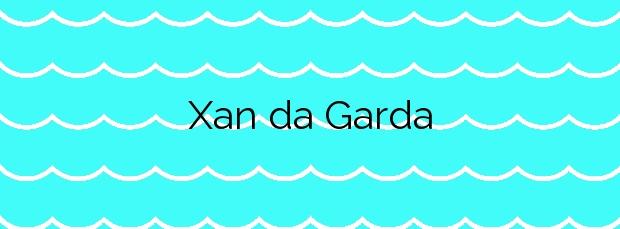 Información de la Playa Xan da Garda en Cangas