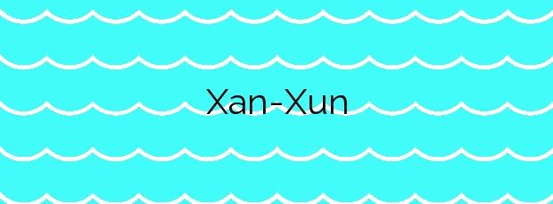 Información de la Playa Xan-Xun en Muros de Nalón