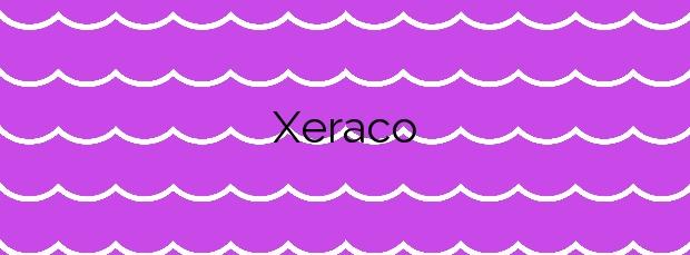 Información de la Playa Xeraco en Xeraco