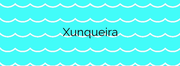 Información de la Playa Xunqueira en Moaña