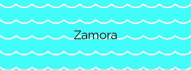 Información de la Playa Zamora en San Sebastián de la Gomera