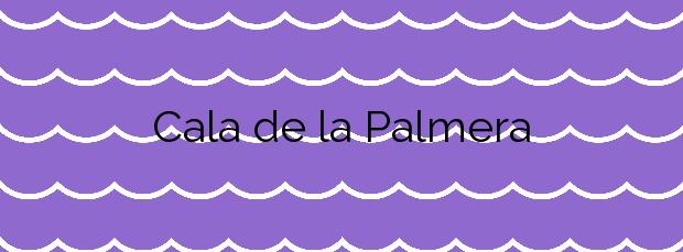 Información de la Cala de la Palmera en Alicante