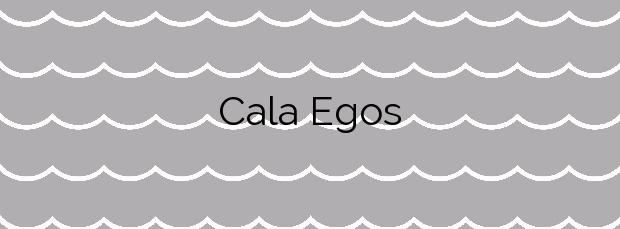 Información de la Cala Egos en Santanyí