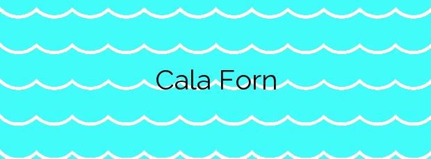 Información de la Cala Forn en L'Ametlla de Mar