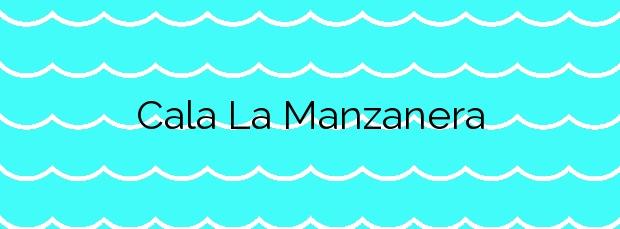 Información de la Cala La Manzanera en Calp