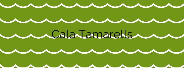 Información de la Cala Tamarells en Maó