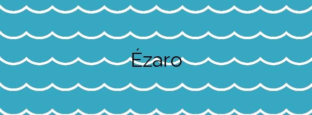 Información de la Playa Ézaro en Dumbría