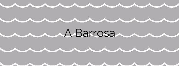 Información de la Playa A Barrosa en O Grove