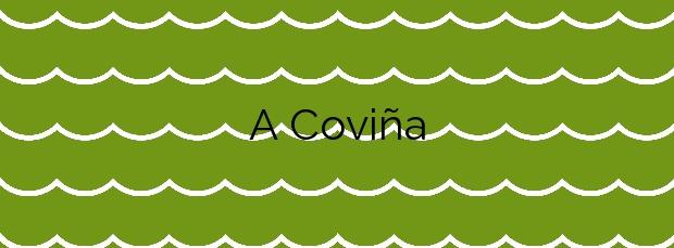Información de la Playa A Coviña en Marín