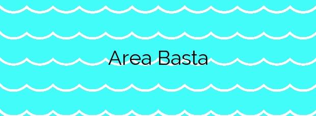 Información de la Playa Area Basta en Ribeira