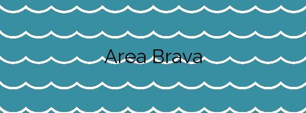 Información de la Playa Area Brava en Foz