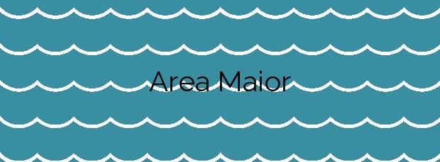 Información de la Playa Area Maior en Malpica de Bergantiños