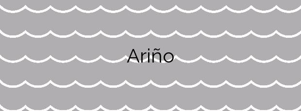 Información de la Playa Ariño en Vilanova de Arousa