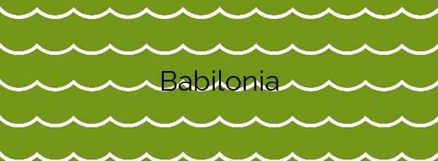 Información de la Playa Babilonia en Guardamar del Segura