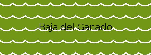Información de la Playa Baja del Ganado en Teguise