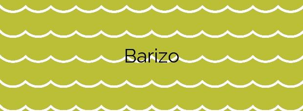 Información de la Playa Barizo en Malpica de Bergantiños