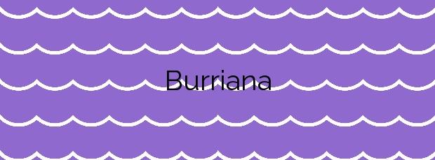 Información de la Playa Burriana en Nerja
