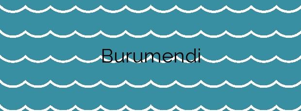 Información de la Playa Burumendi en Mutriku