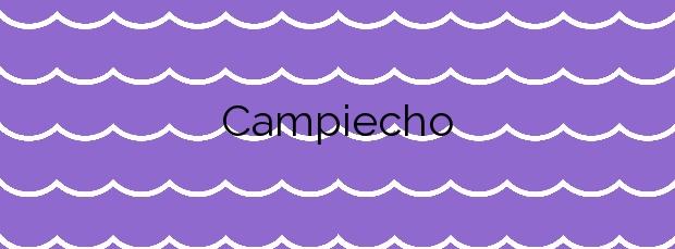 Información de la Playa Campiecho en Valdés