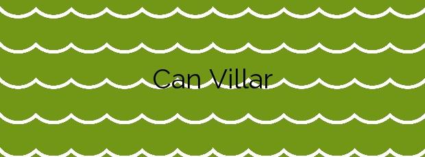 Información de la Playa Can Villar en Sant Pol de Mar