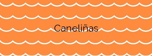 Información de la Playa Caneliñas en Cee