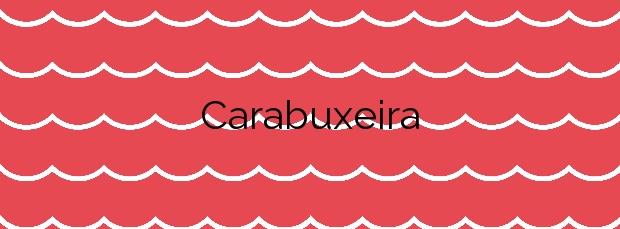 Información de la Playa Carabuxeira en Sanxenxo