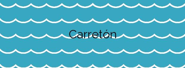 Información de la Playa Carretón en Valdés