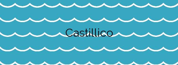 Información de la Playa Castillico en San Javier