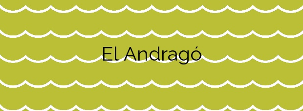 Información de la Playa El Andragó en Teulada