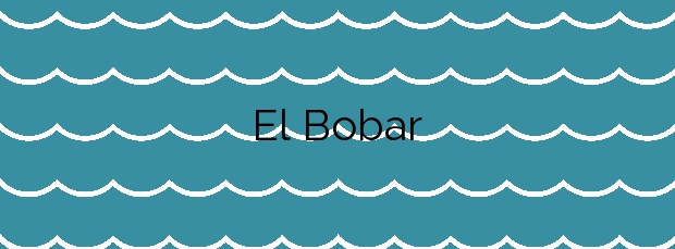 Información de la Playa El Bobar en Almería