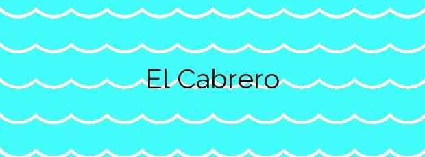Información de la Playa El Cabrero en San Roque