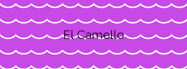 Información de la Playa El Camello en Tacoronte