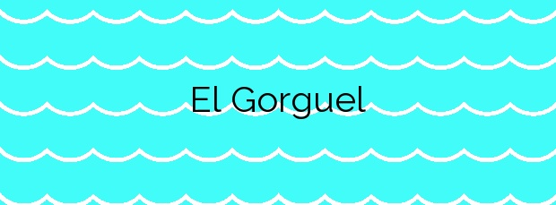 Información de la Playa El Gorguel en Cartagena