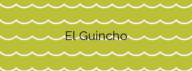 Información de la Playa El Guincho en San Sebastián de la Gomera