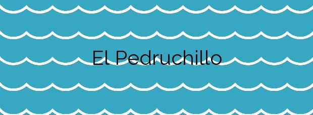 Información de la Playa El Pedruchillo en San Javier