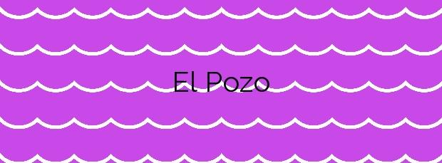 Información de la Playa El Pozo en Candelaria