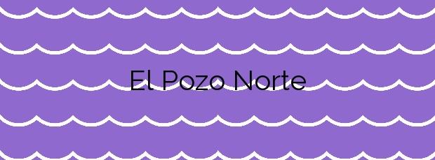 Información de la Playa El Pozo Norte en Villa de Mazo