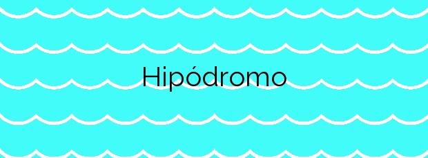 Información de la Playa Hipódromo en Melilla