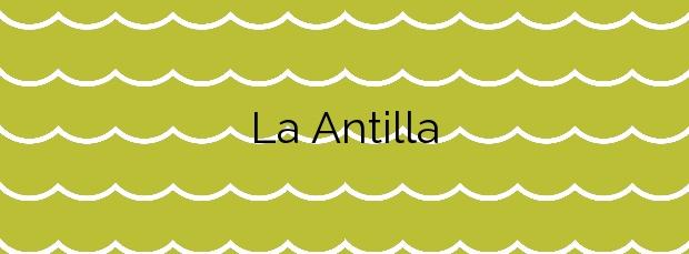 Información de la Playa La Antilla en Lepe