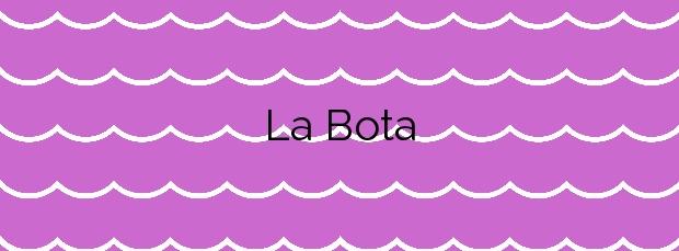 Información de la Playa La Bota en Punta Umbría