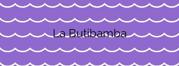 Información de la Playa La Butibamba en Mijas