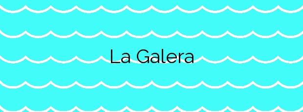 Información de la Playa La Galera en Carboneras
