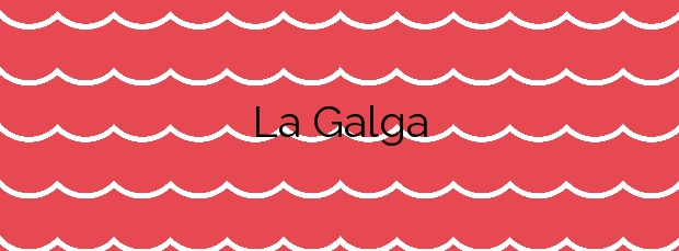 Información de la Playa La Galga en Puntallana