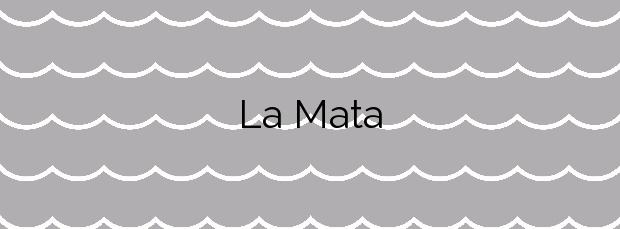 Información de la Playa La Mata en Torrevieja