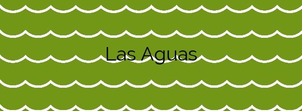 Información de la Playa Las Aguas en Garachico