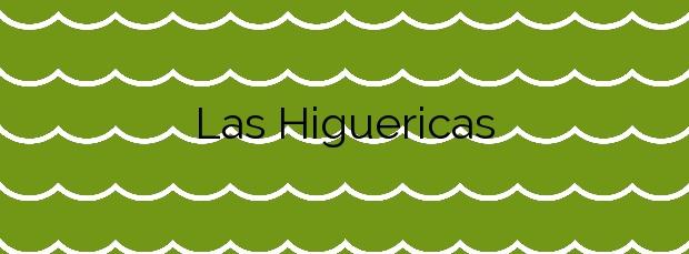 Información de la Playa Las Higuericas en Pilar de la Horadada