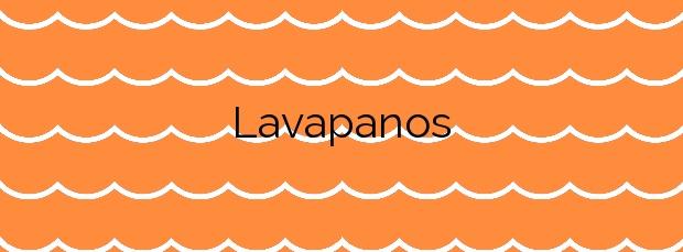 Información de la Playa Lavapanos en Sanxenxo