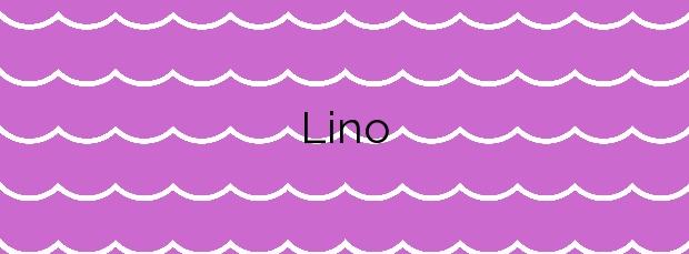 Información de la Playa Lino en A Coruña